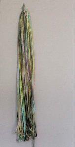 edited skein yarn