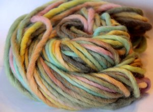 edited swirl yarn