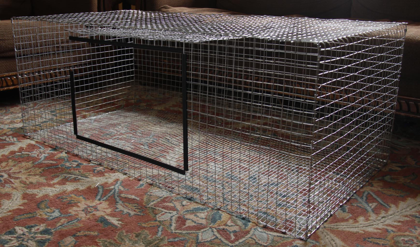 awesome welded wire rabbit cages building illustration